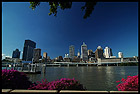 Brisbane City, View from the South Bank, QLD, Australia