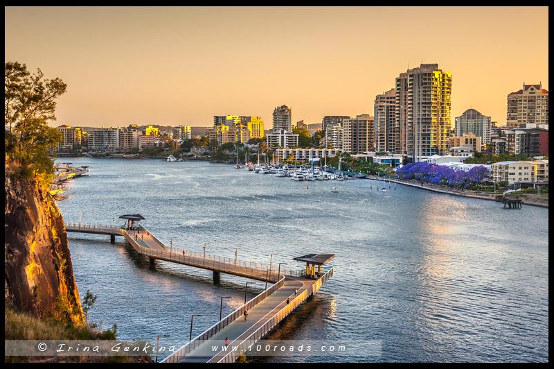 Стори Бридж, Story Bridge, Брисбен, Brisbane, Квинсленд, Queensland, Австралия, Australia