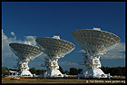Radio Antenna Dishes, Радиотелескоп, Australian Telescope Compact Array, Narrabri, NSW, Australia