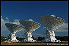 Radio Antenna Dishes, Радиотелескоп, Australian Telescope Compact Array, Narrabri, NSW, Australia