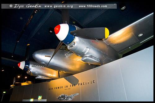 Зал Самолетов, Aircraft Hall, Австралийский военный мемориал, Australian War Memorial, Канберра, Canberra, Австралийская столичная территория, ACT, Австралия, Australia