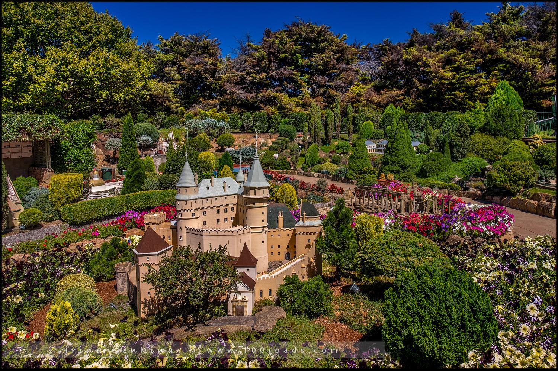 Зеленые сада Кокингтона, Cockington Green Gardens, Канберра, Canberra, Австралийская столичная территория, ACT, Австралия, Australia