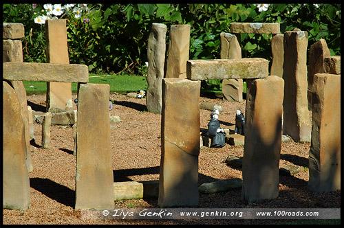 Зеленый сад Кокингтон, Cockington Green Gardens, Канберра, Canberra, Австралийская столичная территория, ACT, Австралия, Australia