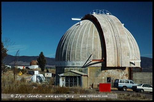 Здание 74 дюймового Рефлектора, Обсерватория Маунт-Стромло, Mount Stromlo Observatory, Канберра, Canberra, Австралийская столичная территория, ACT, Австралия, Australia