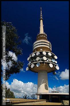 Черная гора, Black Mountain, Башня Черной Горы, Black Mountain Tower, Башня Телстра, Telstra Tower, Канберра, Canberra, Австралийская столичная территория, ACT, Австралия, Australia