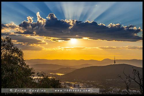 Канберра, Canberra, Австралийская столичная территория, ACT, Австралия, Australia