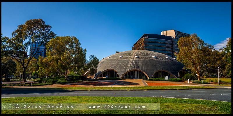 Купол Шайна, The Shine Dome, Канберра, Canberra, Австралийская столичная территория, ACT, Австралия, Australia