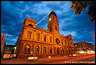 Ballarat Town Hall at Dusk, Балларат, Ballarat, Виктория, Victoria, Австралия, Australia