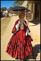 Костюм 19 век, Соверен Хилл, Sovereign Hill, Балларат, Ballarat, Виктория, Victoria, Австралия, Australia