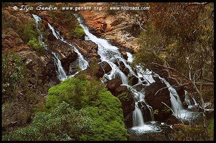 Водопад Калимта, Kalimna Falls, Парк Грэмпианс, The Grampians National Park (Gariwerd), Виктория, Victoria, Австралия, Australia