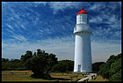 The Cape Schanck Lighthouse, Mornington Peninsula National Park, Victoria, Australia