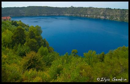 Blue Lake, Маунт Гембер, Mount Gambier, Южная Австралия, South Australia, Австралия Australia