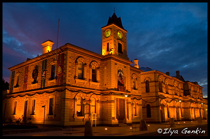 Town Hall, Маунт Гембер, Mount Gambier, Южная Австралия, South Australia, Австралия Australia