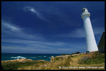 The Point Hicks Lighthouse, Cape Everard, Croajingolong National Park, VIC, Australia