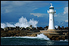 The Wollongong Breakwater Lighthouse, Wollongong, NSW, Australia