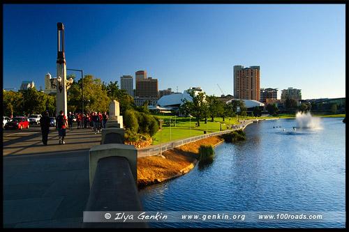 Мост Аделаида, Adelaide bridge, Аделаида, Adelaide, Южная Australia, South Australia, Австралия, Australia