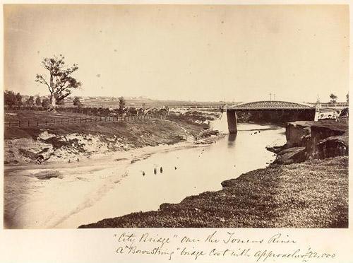 Железный Городской Мост, Iron City Bridge, Аделаида, Adelaide, Южная Australia, South Australia, Австралия, Australia