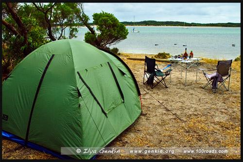 American River Camping Ground, Остров Кенгуру, Kangaroo Island, Южная Australia, South Australia, Австралия, Australia