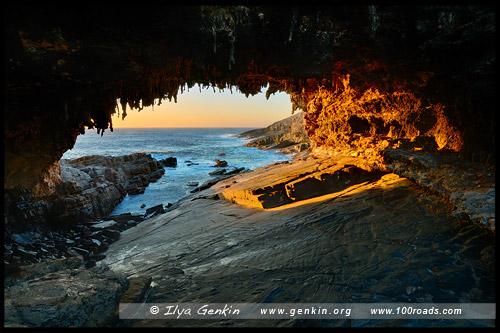 Адмиральская арка, Admirals Arch, Остров Кенгуру, Kangaroo Island, Южная Australia, South Australia, Австралия, Australia