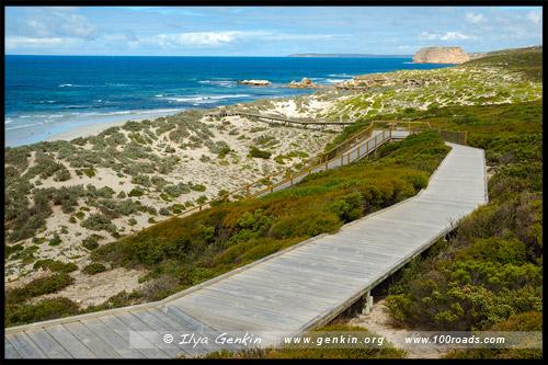 Променад Дона Диксона, Don Dixon boardwalk, Остров Кенгуру, Kangaroo Island, Южная Australia, South Australia, Австралия, Australia