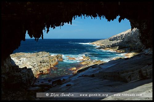 Адмиральская арка (Admirals Arch), Остров Кенгуру, Kangaroo Island, Южная Australia, South Australia, Австралия, Australia
