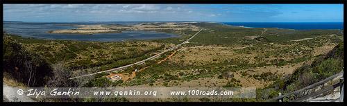 Вид на восточную часть острова с Prospect Hill, Остров Кенгуру, Kangaroo Island, Южная Australia, South Australia, Австралия, Australia