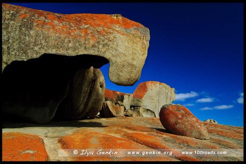 Выдающийся Скалы, Remarkable Rocks, Остров Кенгуру, Kangaroo Island, Южная Australia, South Australia, Австралия, Australia
