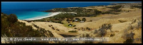 Пляж короля Георга, King George Beach, Остров Кенгуру, Kangaroo Island, Южная Australia, South Australia, Австралия, Australia