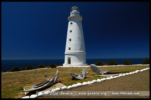 Маяк мыса Виллоуби, Cape Willoughby Lighthouse, Остров Кенгуру, Kangaroo Island, Южная Australia, South Australia, Австралия, Australia