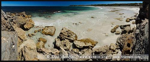 Пляж у Point Tinline, Остров Кенгуру, Kangaroo Island, Южная Australia, South Australia, Австралия, Australia