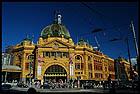 Flinders Street Station, Мельбурн, Melbourne, штат Виктория, Victoria, Австралия, Australia