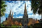 Собор Святого Патрика, St. Patrick's Catherdral, Мельбурн, Melbourne, штат Виктория, Victoria, Австралия, Australia