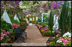 Оранжерея, Conservatory, Сад Фитцрой, Fitzroy Gardens, Мельбурн, Melbourne, Австралия, Australia