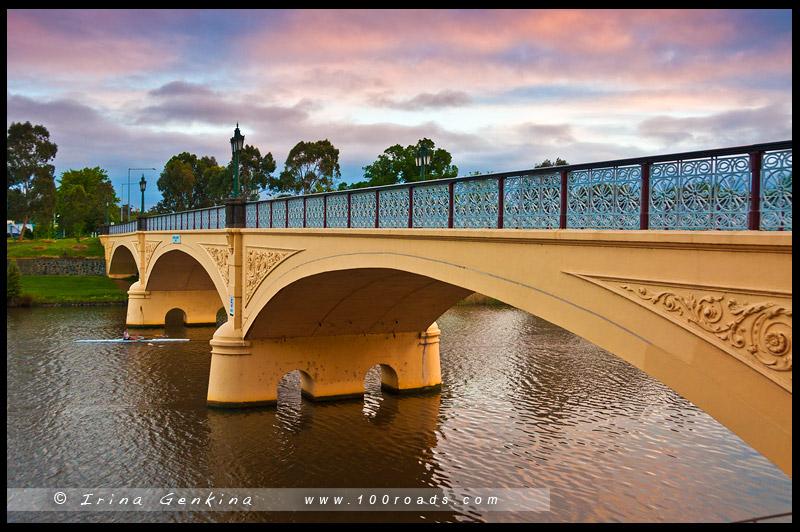 Мост Морелл, Morell Bridge, Мельбурн, Melbourne, Австралия, Australia