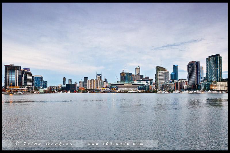 Доклендс, Docklands, Мельбурн, Melbourne, Австралия, Australia