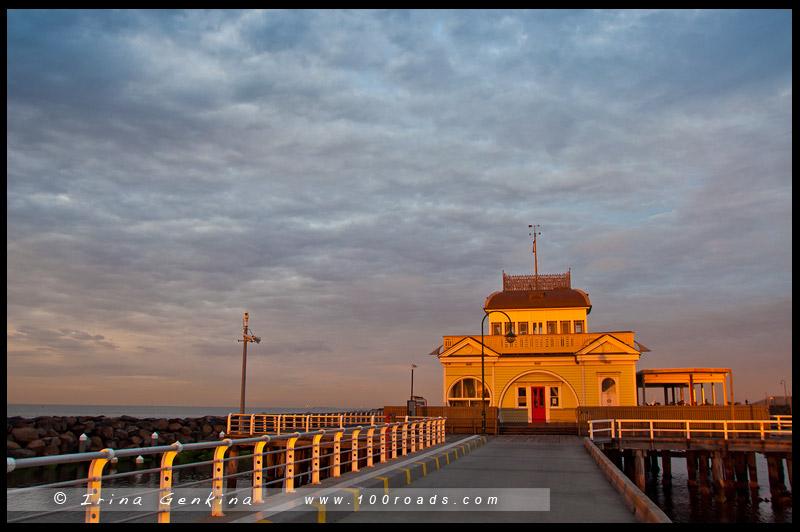 Киоск Сент-Килда, St Kilda Kiosk, Мельбурн, Melbourne, Австралия, Australia
