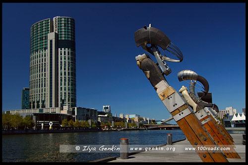 Enterprize Wharf, Мельбурн, Melbourne, Австралия, Australia