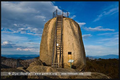 Монолит, The Monolith, Национальный парк Горы Баффало, Mt Buffalo NP, Виктория, Victoria, Австралия, Australia