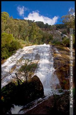 Водопад Евробин, Eurobin Falls, Национальный парк Горы Баффало, Mt Buffalo NP, Виктория, Victoria, Австралийские Альпы, Australian Alps, Австралия, Australia