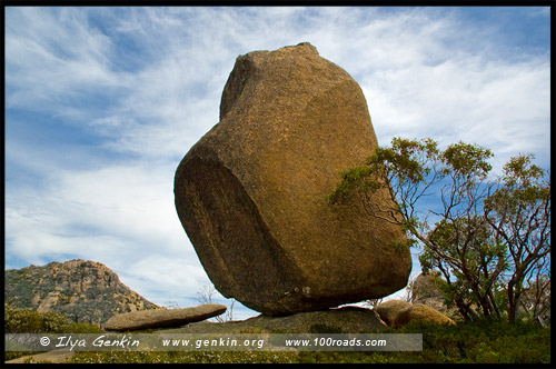 Страж, The Sentinel, Национальный парк Горы Баффало, Mt Buffalo NP, Виктория, Victoria, Австралийские Альпы, Australian Alps, Австралия, Australia