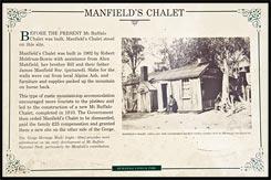 Шале Манфилд, Manfield's Chalet, Национальный парк Горы Баффало, Mt Buffalo NP, Виктория, Victoria, Австралия, Australia