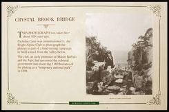 Мост Кристал Брук, Crystal Brook Bridge, Национальный парк Горы Баффало, Mt Buffalo NP, Виктория, Victoria, Австралия, Australia