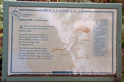 Схема трека к Водопаду Ролласонс, Rollasons Falls, Национальный парк Горы Баффало, Mt Buffalo NP, Виктория, Victoria, Австралийские Альпы, Australian Alps, Австралия, Australia