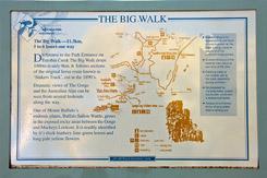 Схема трека The Big Walk, Национальный парк Горы Баффало, Mt Buffalo NP, Виктория, Victoria, Австралия, Australia
