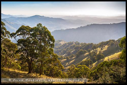 Закат, Парк Баррингтон Топс, Barrington Tops NP, Новый Южный Уэльс, NSW, Австралия, Australia