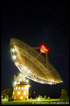 <Радио-телескоп, Тарелка, The Dish, Паркс, Parkes, Новый Южный Уэльс, NSW, Австралия, Australia
