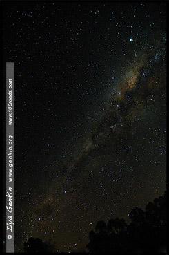 <Млечный Путь, Радио-телескоп, Тарелка, The Dish, Паркс, Parkes, Новый Южный Уэльс, NSW, Австралия, Australia