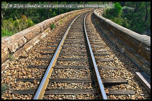 <Zig Zag Railway, Литгоу, Lithgow, Новый Южный Уэльс, NSW, Австралия, Australia