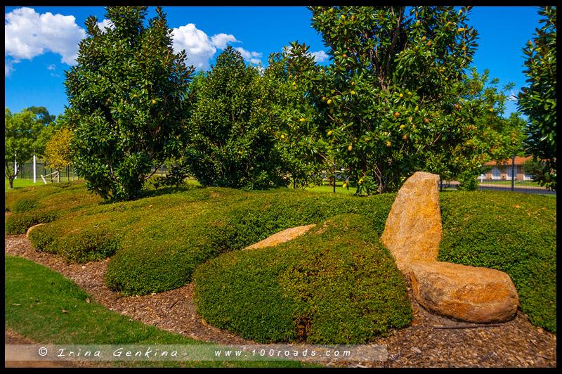Японский сад Shoyoen, Japanese Garden Shoyoen, Достопримечательности, Sights, Даббо, Dubbo, Новый Южный Уэльс, New South Wales, Австралия, Australia