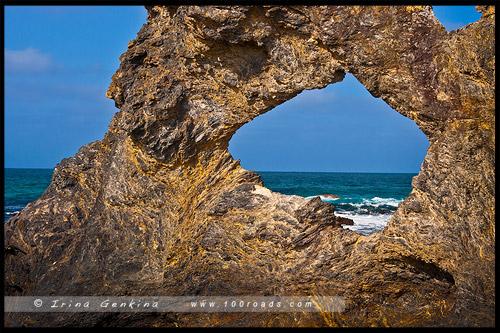 Скала Австралия, Australia Rock, Нарума, Narooma, Новый Южный Уэльс, NSW, Австралия, Australia